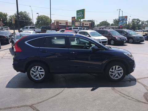 2016 Honda CR-V for sale at Premier Auto Source INC in Terre Haute IN
