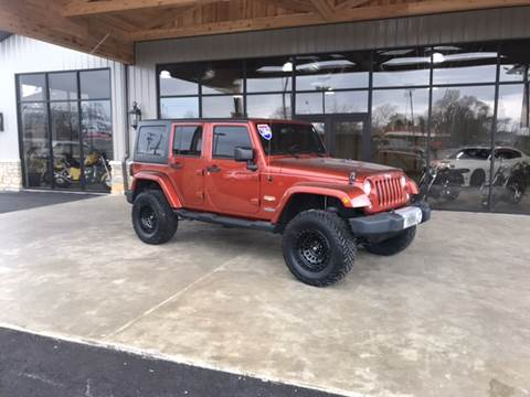 2014 Jeep Wrangler Unlimited for sale at Premier Auto Source INC in Terre Haute IN