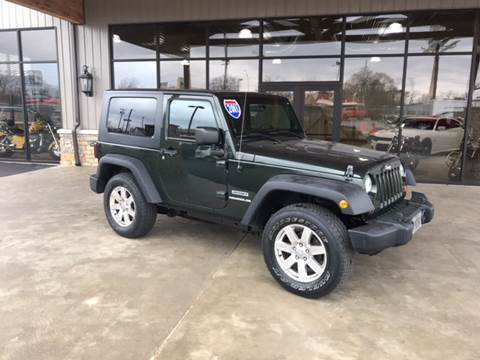 2011 Jeep Wrangler for sale at Premier Auto Source INC in Terre Haute IN