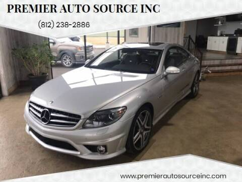 2008 Mercedes-Benz CL-Class for sale at Premier Auto Source INC in Terre Haute IN
