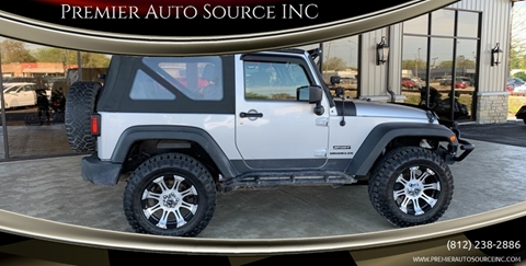 2010 Jeep Wrangler for sale at Premier Auto Source INC in Terre Haute IN