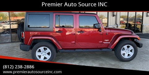 2011 Jeep Wrangler Unlimited for sale in Terre Haute, IN