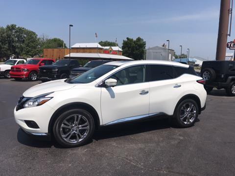 2015 Nissan Murano for sale at Premier Auto Source INC in Terre Haute IN