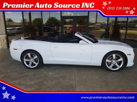 2012 Chevrolet Camaro for sale at Premier Auto Source INC in Terre Haute IN