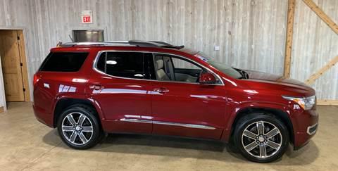 2017 GMC Acadia for sale at Premier Auto Source INC in Terre Haute IN