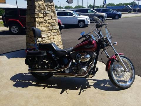 2003 Harley-Davidson FXST ANNIVERSARY  for sale at Premier Auto Source INC in Terre Haute IN