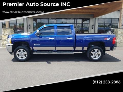 2013 Chevrolet Silverado 2500HD for sale at Premier Auto Source INC in Terre Haute IN