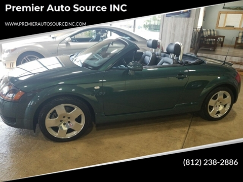 2001 Audi TT for sale at Premier Auto Source INC in Terre Haute IN