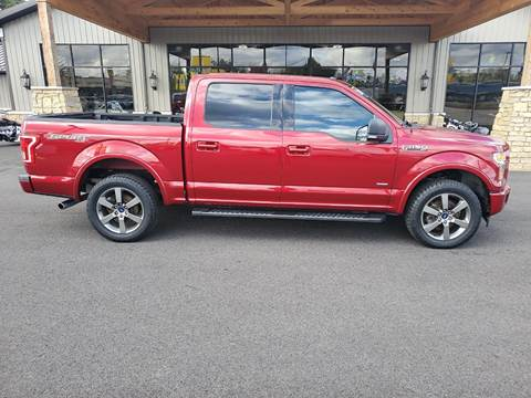 2017 Ford F-150 for sale at Premier Auto Source INC in Terre Haute IN