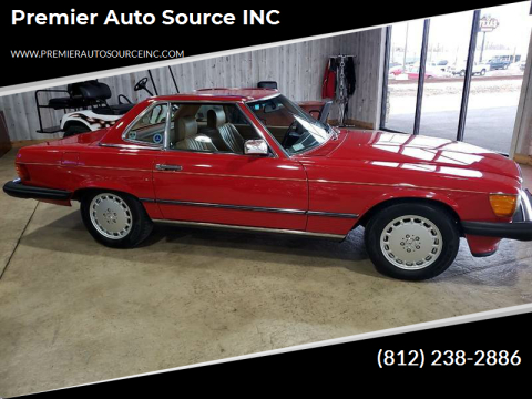 1987 Mercedes-Benz 560-Class for sale at Premier Auto Source INC in Terre Haute IN