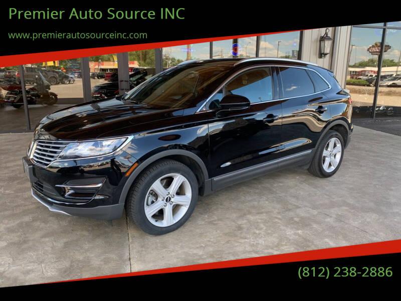 2016 Lincoln MKC for sale at Premier Auto Source INC in Terre Haute IN