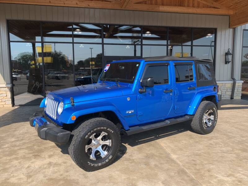 2016 Jeep Wrangler Unlimited for sale at Premier Auto Source INC in Terre Haute IN