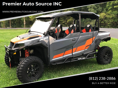 2020 Polaris General XP 4 1000 Deluxe for sale at Premier Auto Source INC in Terre Haute IN