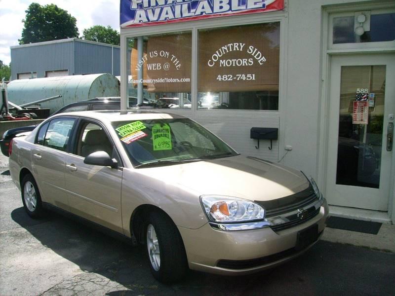 2005 Chevrolet Malibu For Sale At Countryside Motors In Torrington CT