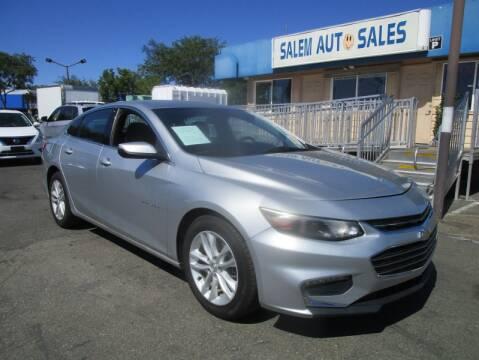2016 Chevrolet Malibu for sale at Salem Auto Sales in Sacramento CA