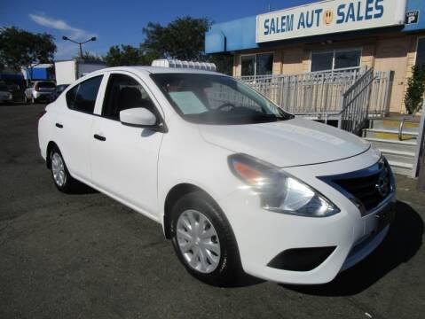 2017 Nissan Versa for sale at Salem Auto Sales in Sacramento CA