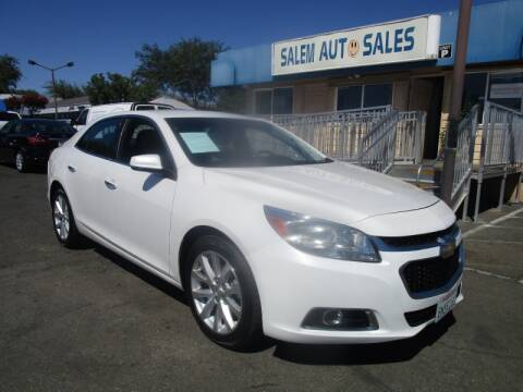 2016 Chevrolet Malibu Limited for sale at Salem Auto Sales in Sacramento CA