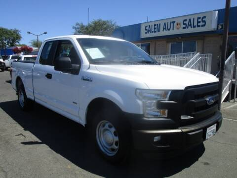 2015 Ford F-150 for sale at Salem Auto Sales in Sacramento CA