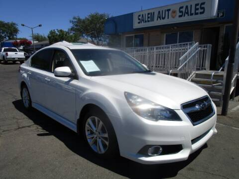 2014 Subaru Legacy for sale at Salem Auto Sales in Sacramento CA