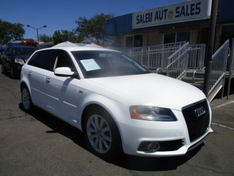 2011 Audi A3 for sale at Salem Auto Sales in Sacramento CA