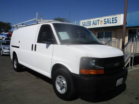 2013 Chevrolet Express Cargo for sale at Salem Auto Sales in Sacramento CA
