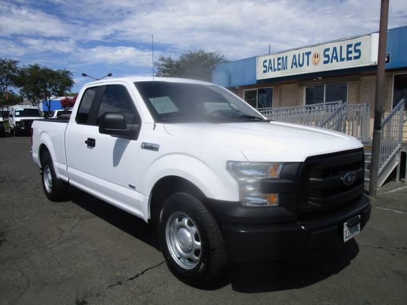 2016 Ford F-150 for sale at Salem Auto Sales in Sacramento CA