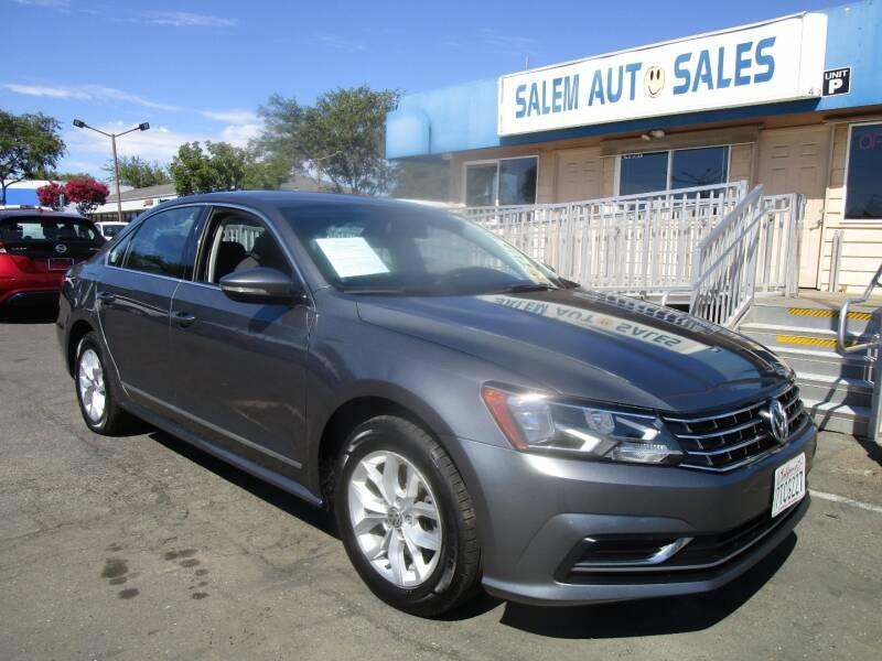 2016 Volkswagen Passat for sale at Salem Auto Sales in Sacramento CA