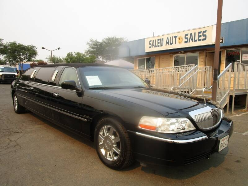 2006 Lincoln Town Car for sale at Salem Auto Sales in Sacramento CA
