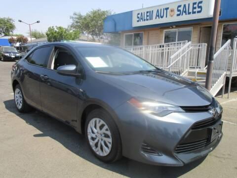 2018 Toyota Corolla for sale at Salem Auto Sales in Sacramento CA