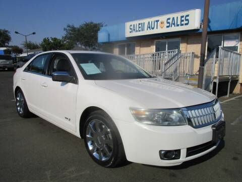 2009 Lincoln MKZ for sale at Salem Auto Sales in Sacramento CA
