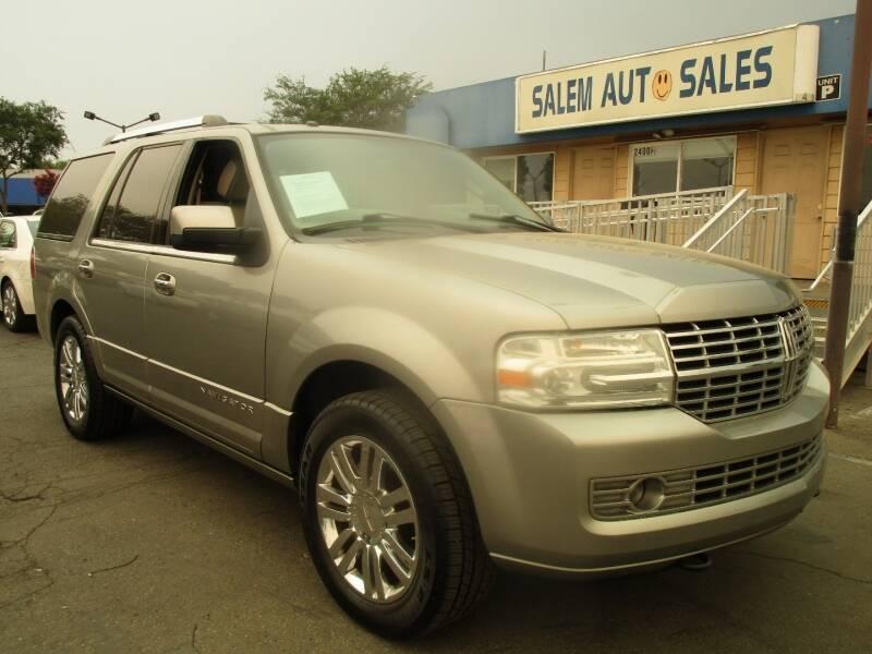 2008 Lincoln Navigator for sale at Salem Auto Sales in Sacramento CA