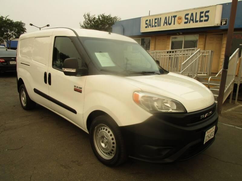 2019 RAM PROMASTER CITY - REAR CAMERA - for sale at Salem Auto Sales in Sacramento CA