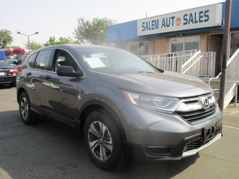 2018 Honda CR-V for sale at Salem Auto Sales in Sacramento CA