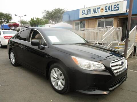 2017 Subaru Legacy for sale at Salem Auto Sales in Sacramento CA
