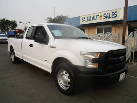 2017 Ford F-150 for sale at Salem Auto Sales in Sacramento CA