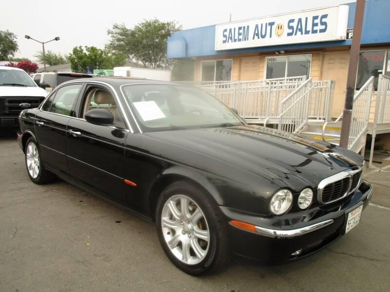 2004 Jaguar XJ-Series for sale at Salem Auto Sales in Sacramento CA