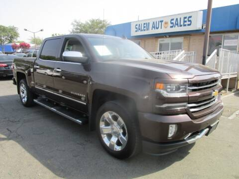 2016 Chevrolet Silverado 1500 for sale at Salem Auto Sales in Sacramento CA