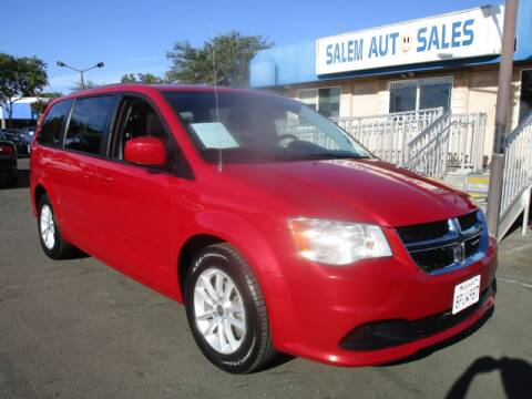 2015 Dodge Grand Caravan for sale at Salem Auto Sales in Sacramento CA