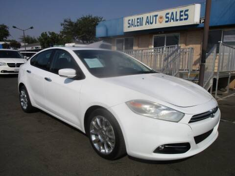 2014 Dodge Dart for sale at Salem Auto Sales in Sacramento CA