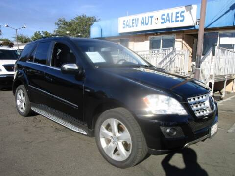 2010 Mercedes-Benz M-Class for sale at Salem Auto Sales in Sacramento CA