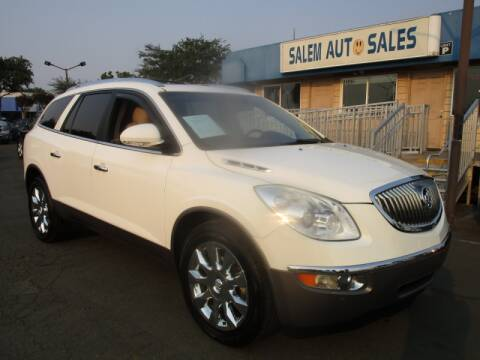 2012 Buick Enclave for sale at Salem Auto Sales in Sacramento CA