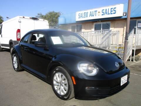 2015 Volkswagen Beetle for sale at Salem Auto Sales in Sacramento CA