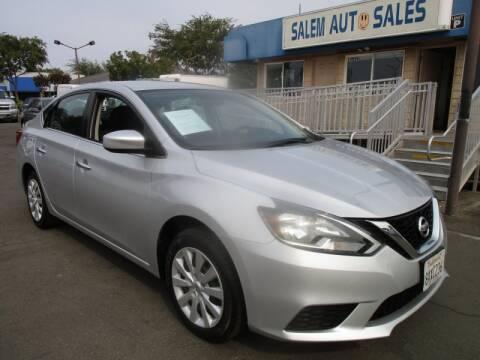 2018 Nissan Sentra for sale at Salem Auto Sales in Sacramento CA