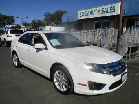 2012 Ford Fusion for sale at Salem Auto Sales in Sacramento CA