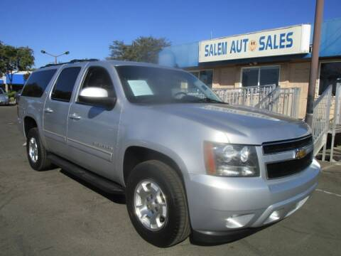 2013 Chevrolet Suburban for sale at Salem Auto Sales in Sacramento CA