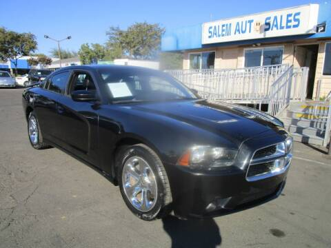 2011 Dodge Charger for sale at Salem Auto Sales in Sacramento CA