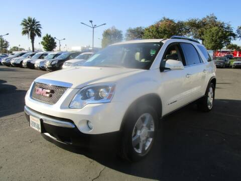 2008 GMC Acadia for sale at Salem Auto Sales in Sacramento CA