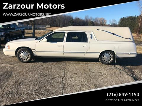 1998 Cadillac HEARSE for sale in Chesterland, OH