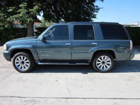 1999 GMC Yukon for sale in Nsb, FL