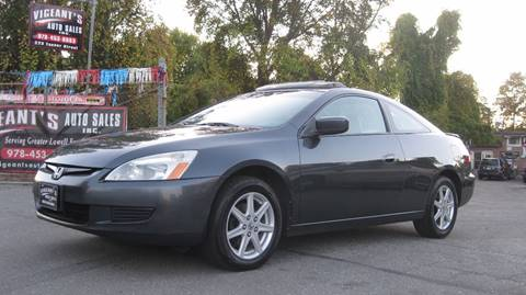 2004 Honda Accord for sale in Lowell, MA